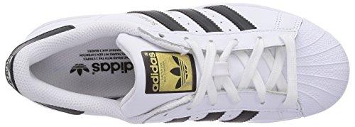 adidas Originals Superstar, Unisex-Erwachsene Skateboardschuhe, Weiß (Ftwr White/Core Black/Ftwr White), 38 2/3 EU (5.5 Erwachsene UK) -