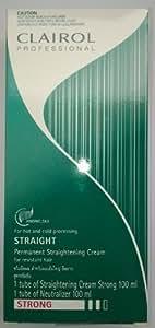 Hair Straight Cream Clairol Permanent Straightening Cream for Resistant Hair 100ml.,