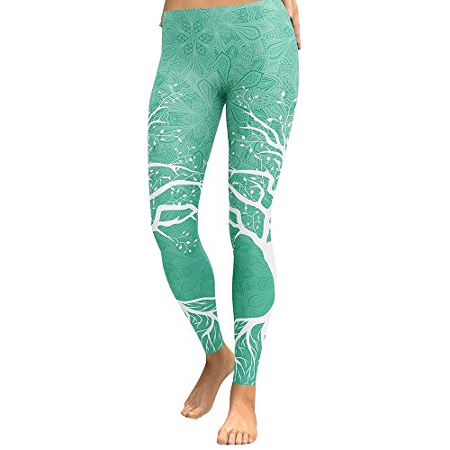 QINGXIA_ZI Pantalones Fitness Yoga Mujeres Largos