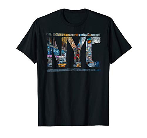 New York Tourist NYC USA I Love NY Hip Hop Souvenir Geschenk T-Shirt