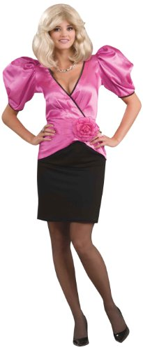 Dynasty Puffed Sleeves Soap Star Costume
