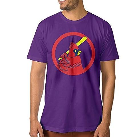 XJ-cool Herren T-Shirt Gr. S, Violett
