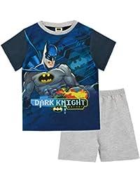 b83cfed8b4 Batman Pijamas de Manga Corta para niños DC Comics