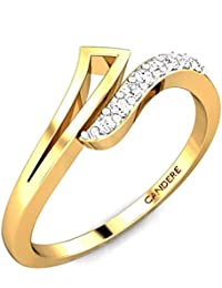 Candere by Kalyan Jewellers Yellow Gold Ring for Women