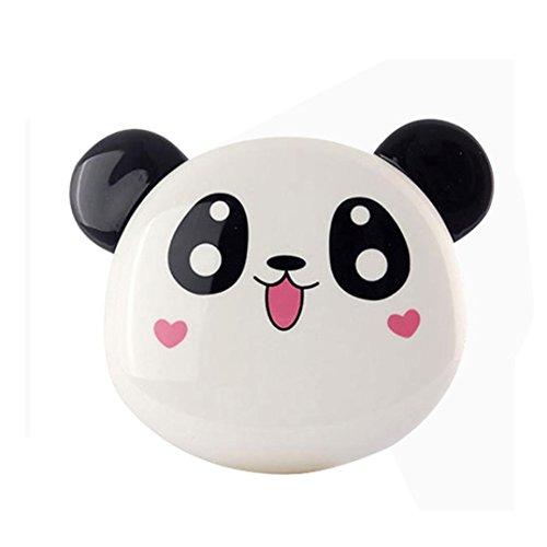 Taottao batteria esterna a forma di grazioso panda, 12.000 mah, portatile, per telefono, usb, c