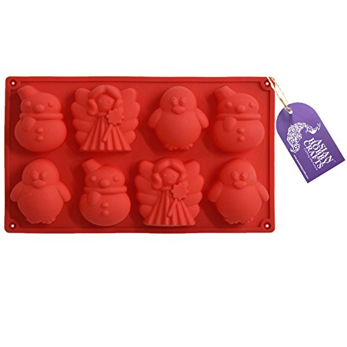 Asian Hobby Crafts Silicone Cake/Cookie/Soap Mould – Design: Penguin (29 x 17 x 3 inch)