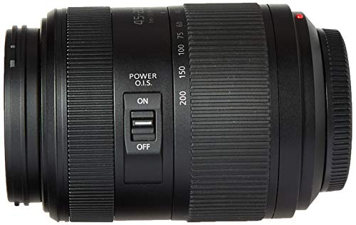 Panasonic Lumix G II Vario Objektiv 45-200 mm, F4.0-5.6, spiegellos (H-FSA45200)
