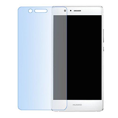 Huawei P9 Lite vetro temperato,Lizimandu Pellicola Protettiva Glass Screen Protector per Huawei P9 lite[1-Pack]- Vetro con Durezza 9H, Spessore di 0,2 mm,Bordi Arrotondati da 2,5D-Shockproof, Trasparenza ad alta definizione, Facile da installare(Luce Blu/Blue light)