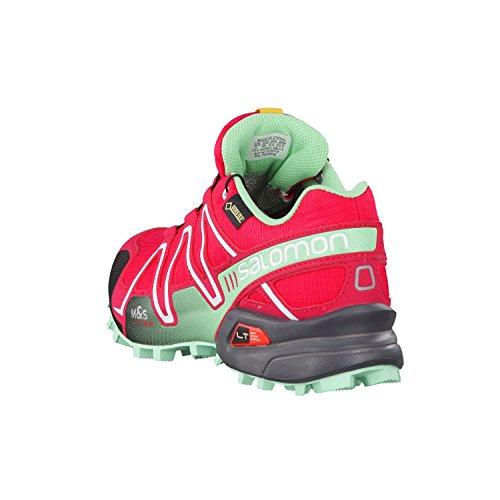 Salomon  Speedcross 3 Gtx, Trail homme Rose - Lotus Pink Lucite Green Black