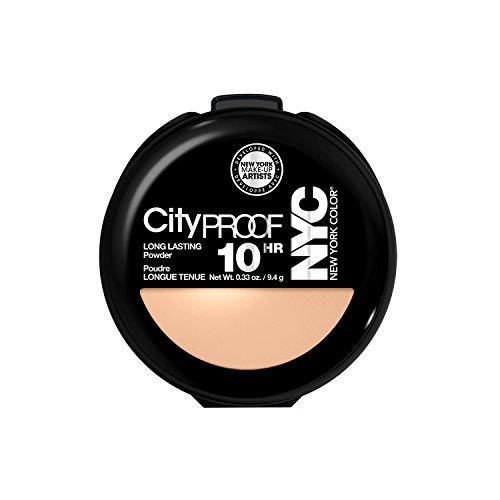 NYC Smooth Skin Pressed Face Powder - Warm Beige