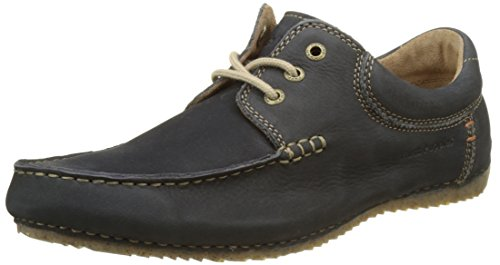 Hush Puppies Herren Randell Derby Blau (Marineblau)