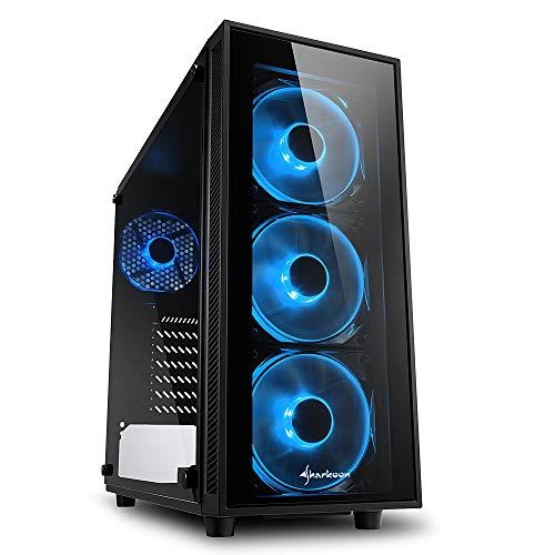 Sharkoon TG4 PC-Gehäuse Blau