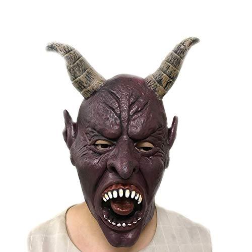 ske Schaf Horn Maske Maske Teufel Halloween Karneval Requisiten Männer und Frauen ()