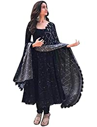 Ethnic Wings Georgette Salwar Suit