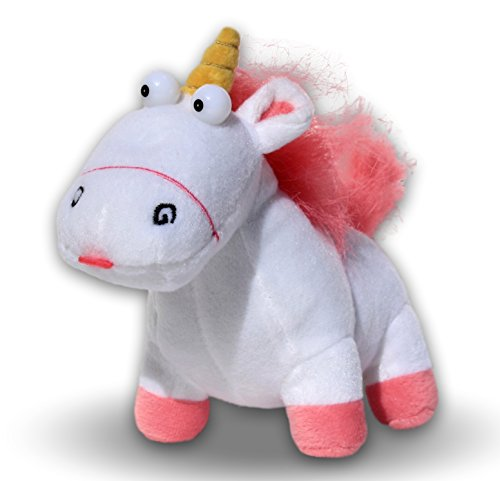 Fluffy Unicorn 6 '' Agnes Plüschtiere Doll Minions Funfair Gru's Puppe Despicable Me 2 Minion Super Soft