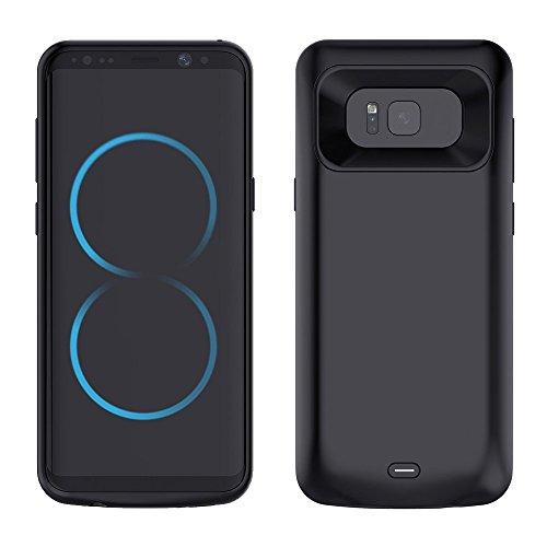 Mbuynow Cover Batteria 5000mAh per Galaxy S8 Cover Protettiva con Batteria Integrata da 5000mAh per Samsung Galaxy S8