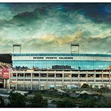 Lámina para enmarcar - Estadio Vicente Calderón - Atlético ...