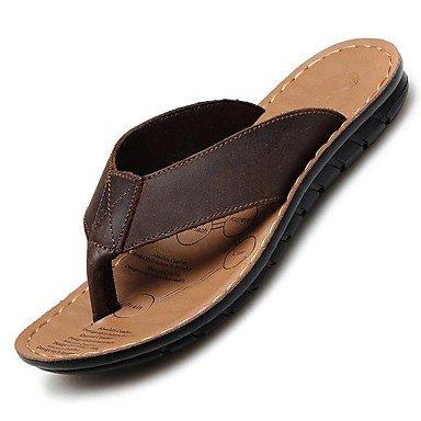 Scarpe da uomo in pelle Nappa Outdoor / Casual Outdoor / Casual Sandali Sport Tallone piano Vuoto-ou sandali US6-6.5 / EU38 / UK5-5.5 / CN38