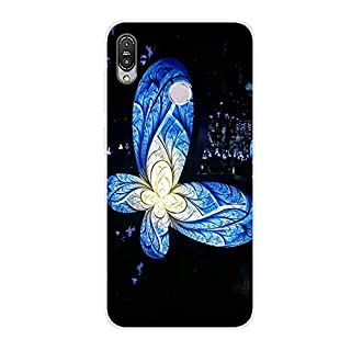 Aksuo for Asus ZB633KL Slim Shockproof Case, Exquisite Pattern Design Clear Bumper TPU Soft Flexible Rubber Silicone Skin Back Cover - Q-Asus ZB633KL-49