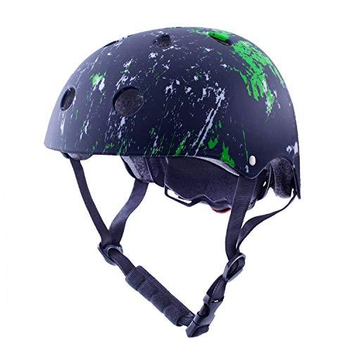 Exclusky Kinder/Kinder/Kinder Fahrradhelm CE Zertifiziert für Multi-Sport BMX Skateboard Roller Helm Alter 3-8 Jahre Jungen Mädchen