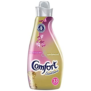 Comfort Creations Honeysuckle Fabric Conditioner, 6.96 L - 198 Washes (33 Washes x Pack of 6)