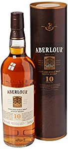Aberlour 10 Year Old Matured Single Malt Scotch Whisky, 70 cl from Aberlour