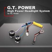 MachinYeser GTPOWER Sistema de Alta Potencia Linterna Super Brillante Luz  LED Lámpara para RC Coche 95e62977eab6