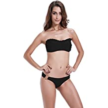 zeraca da donna O-Ring inferiore Ruffle Bikini Set