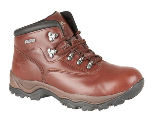 Northwest Men Hiking Walking Trail Boots Leather Waterproof Ankle High Rise Shoe 1