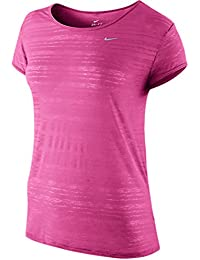 Nike Dri-Fit Touch Breeze Ladies Running Top - Pink