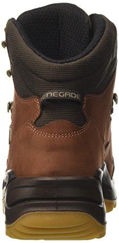 Lowa Renegade Gtx Mid, Stivali da Escursionismo Uomo Marrone (Cognac/Dunkelbraun)