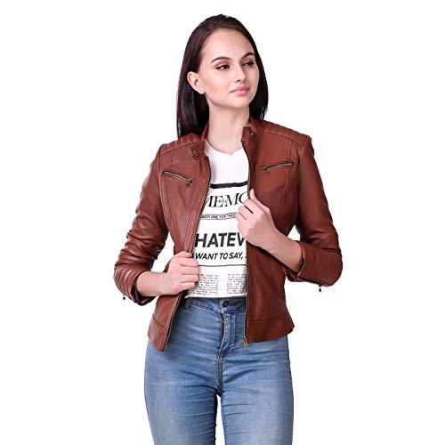 Leather Retail Faux Leather Jacket Female