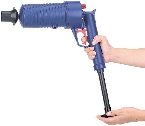 AGT Pressluft-Rohrreiniger mit handlichem Pistolengriff - 4