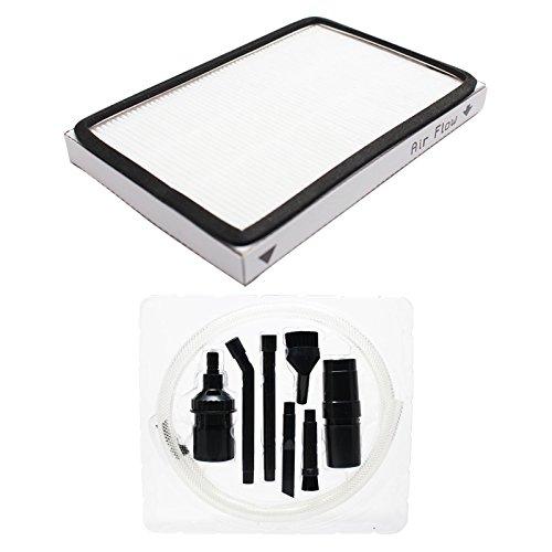 Ersatz Kenmore 11621614010Vakuum HEPA-Filter mit 7-teilig Micro Vakuum Befestigung-Kit–Kompatibel Kenmore 86889, EF-HEPA-filter
