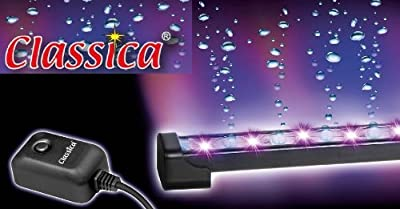 Classica Led Light Air Curtain Bubble Strip Hose Aeration Bubbles Wall Stone Multi Colour