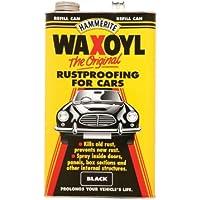 Hammerite Waxoyl Black/Aero / Schutz/Pressure Can/Refill Can All Available
