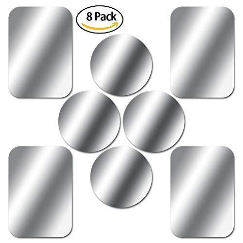 SKYEE [8 Piezas láminas Metálicas 3M Adhesivos Muy