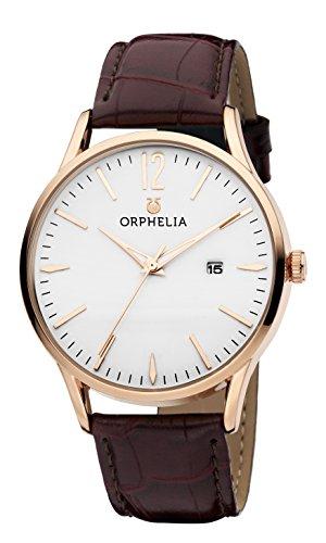 Orphelia Damen-Armbanduhr Modern Classic Analog Quarz Leder (Reden Sie Datum Und Zeit, Uhr)