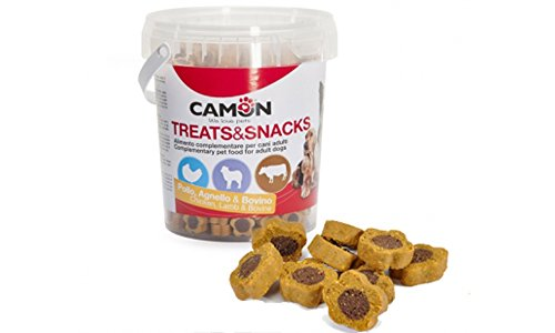 Snack per cani Camon Mini Treats&Snacks Duo Stars 500g