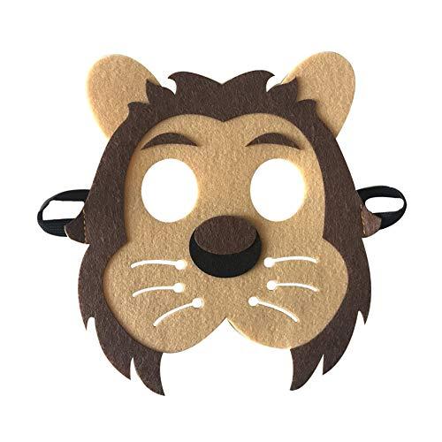 oween Masken Niedlichen Tier Lion Tiger Fox Maskerade Party Kostüm Cosplay Prop ()