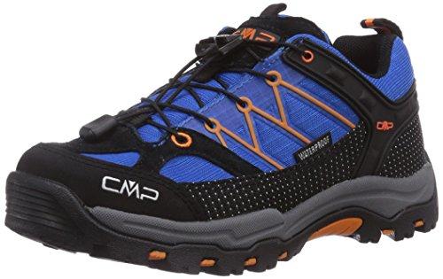 CMP Rigel Jungen Trekking & Wanderhalbschuhe Blau (Vela M867)