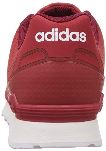 adidas Herren 10k Casual Turnschuhe, Blau Verschiedene Farben (Rot (Rojpot / Rojpot / Buruni))