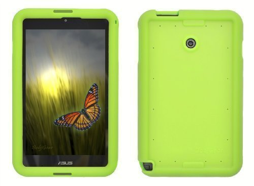 Bobj Silikon-Hulle Heavy Duty Tasche fur ASUS VivoTab Note 8 Tablette M80TA - BobjGear Schutzhulle (Grun)