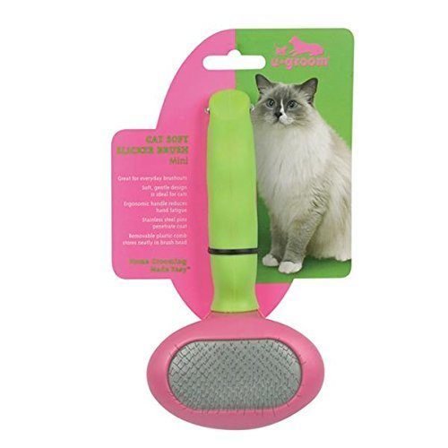 UGroom Cat Soft Slicker Brush with Stainless Steel Pins, 6 - 3/03941L by Petedge Kartengeber Services * -
