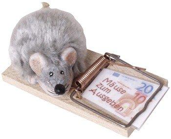 Mausefalle 'Mäuse zum Ausgeben'