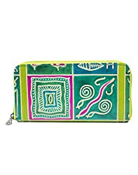 Anekaant Womens Wallet (Green)