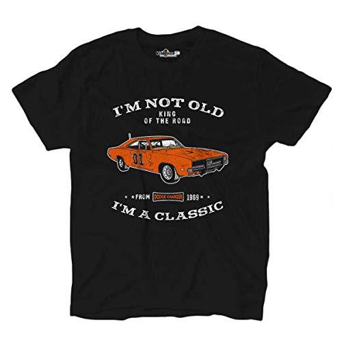 KiarenzaFD T-Shirt Auto Klassiker König der Straße Auto Generale Lee Icona Pop -