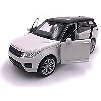 Modelo del coche de deportes de Range Rover por Welly modelo del coche de los colectores de la escala 1:32 (White)