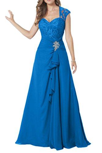 Missdressy - Robe - Plissée - Femme Bleu - Bleu