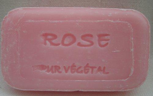 ROSE with ROSE oil Natural soap Savonnerie de Bormes Provence 100 g by Savonnerie de Bormes